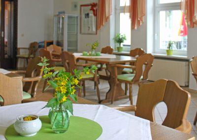 Gemütliche Cafeteria